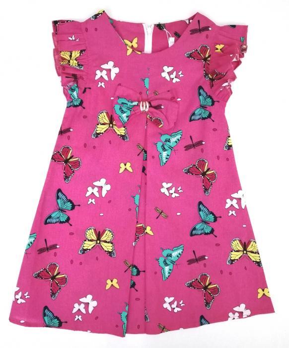 2200211 Платье для девочки рост (110-116-122-128)