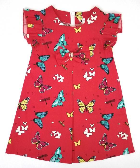 2200212 Платье для девочки рост (110-116-122-128)