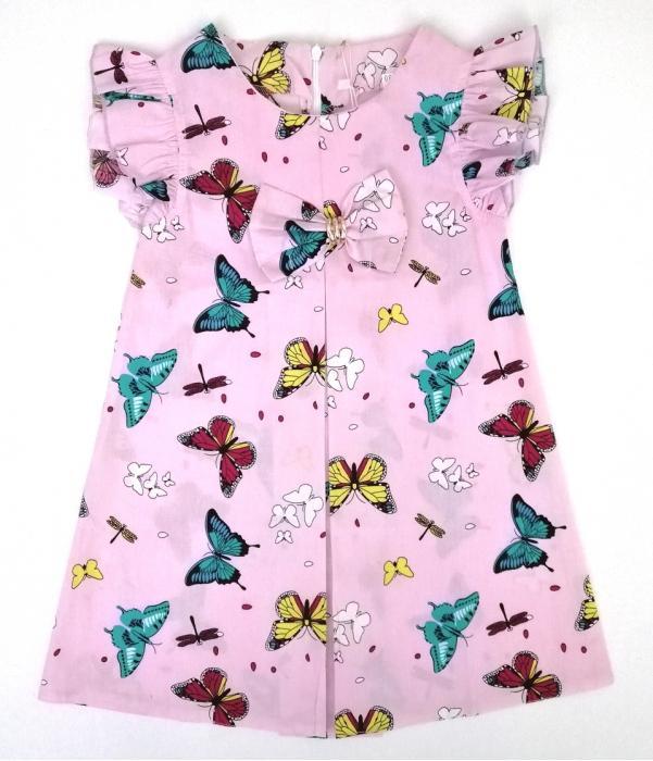 2200213 Платье для девочки рост (110-116-122-128)