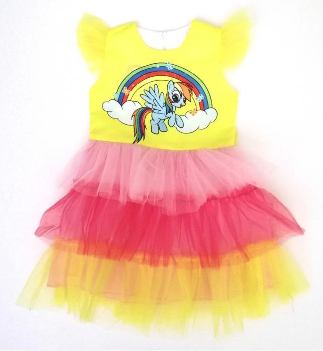 2200220 Платье для девочки рост (104-110)