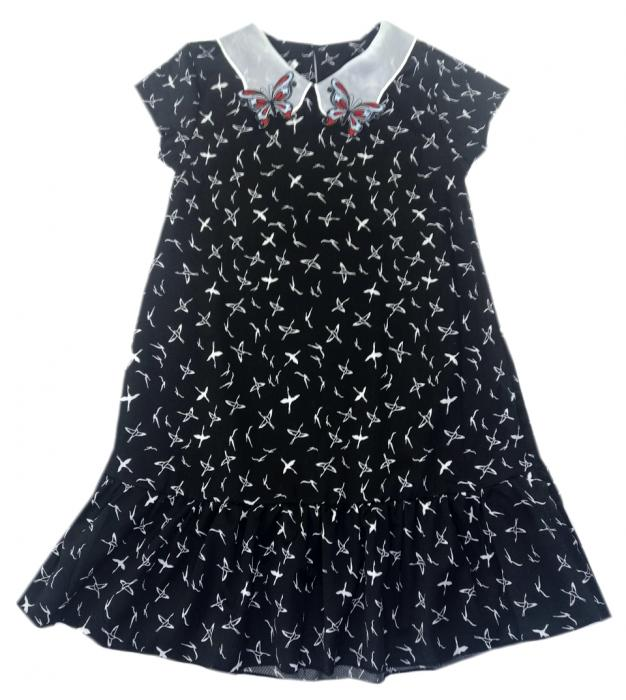 2200329 Платье для девочки рост (122-128-134-140-146)