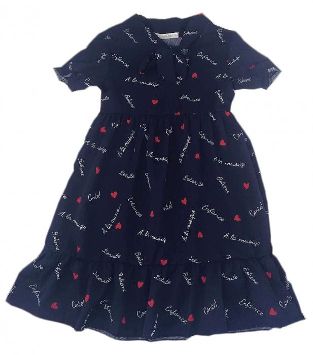 2200342 Платье для девочки рост (116-122-128-134-140)