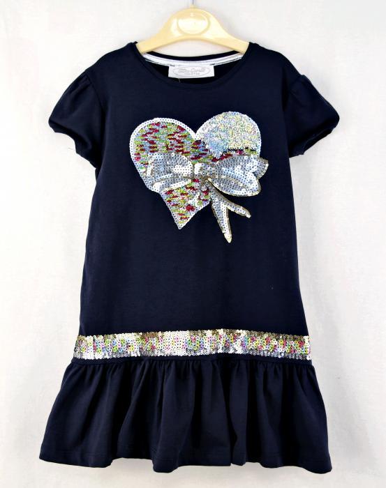 1400122 Платье для девочки рост (110-116-122-128-134-140) Турция