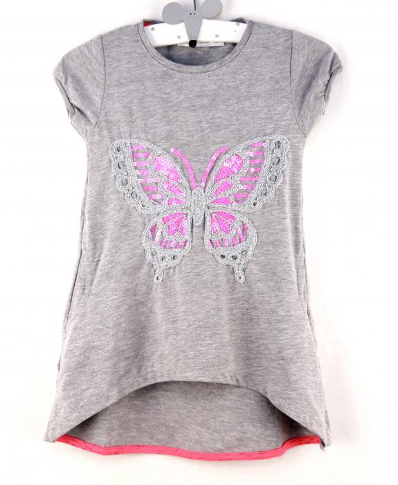 1400124 Платье для девочки рост (98-104-110-116-122-128) Турция