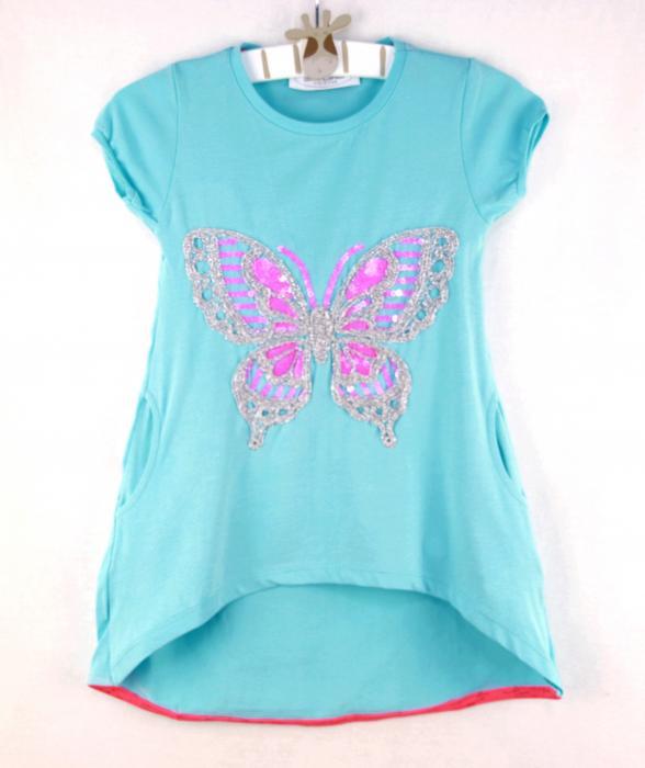 1400129 Платье для девочки рост (98-104-110-116-122-128) Турция