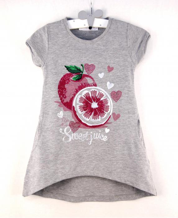 1400131 Платье для девочки рост (98-104-110-116-122-128) Турция