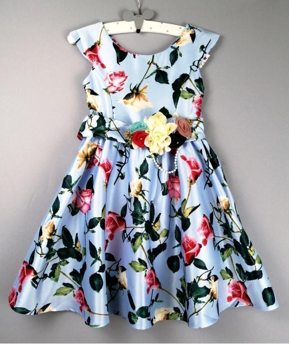2000133  Платье для девочки рост (122-128-134-140)