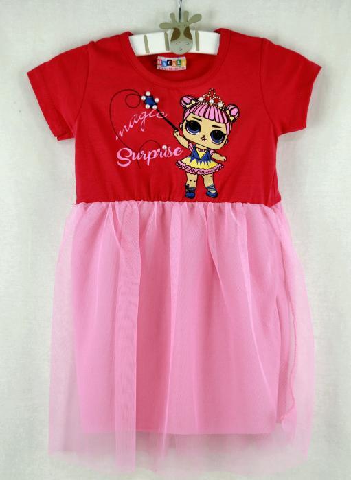 1200105 Платье для девочки рост (92-104-116-128) Турция