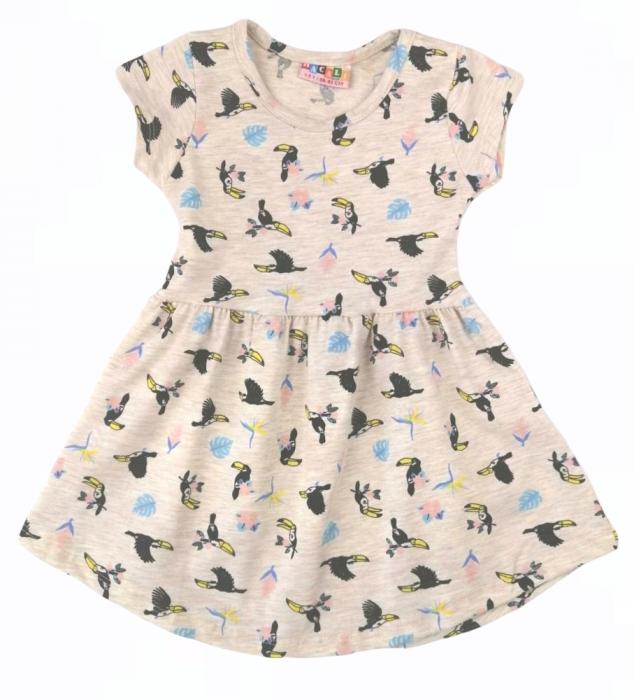 1200337 Платье для девочки рост (86-92-104-116) Турция