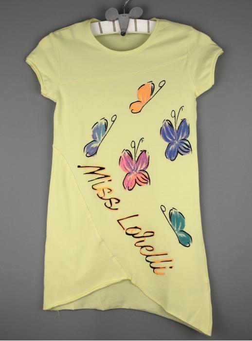 1400114 Платье для девочки рост (110-116-122-128-134-140) Турция
