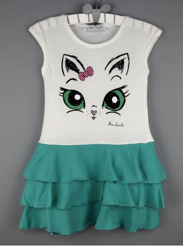 Платье для девочки рост (98-104-110-116-122-128) Турция