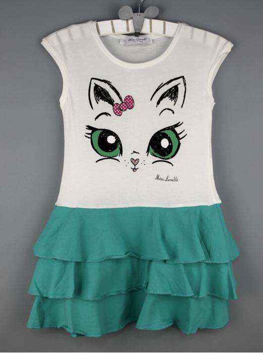 1400120 Платье для девочки рост (98-104-110-116-122-128) Турция
