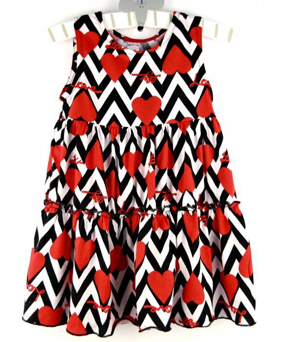 1500204 Платье для девочки Bonito рост (92-98-104-110) Узбекистан