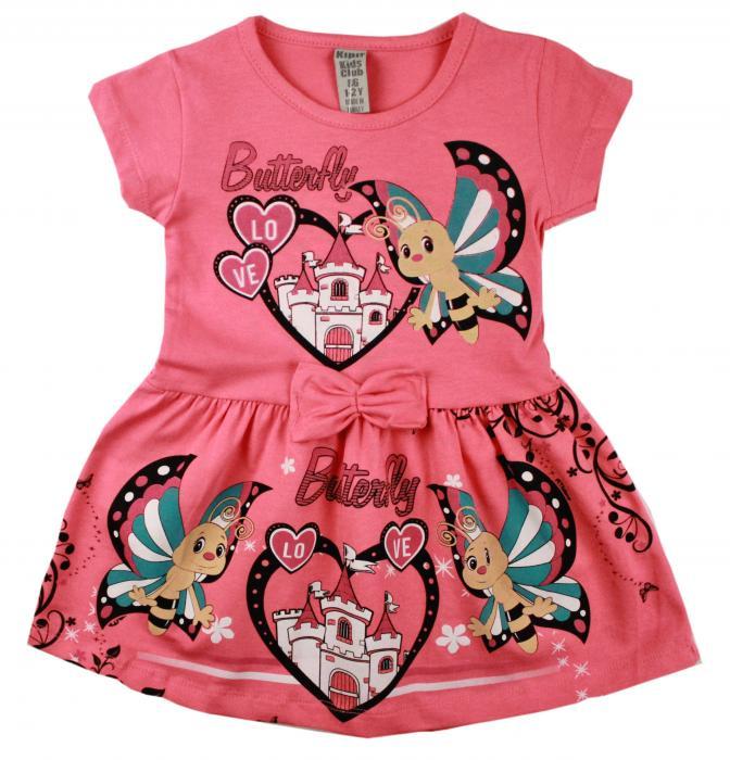 1700293  Платье для девочки рост (86-92-98-104-110) Турция
