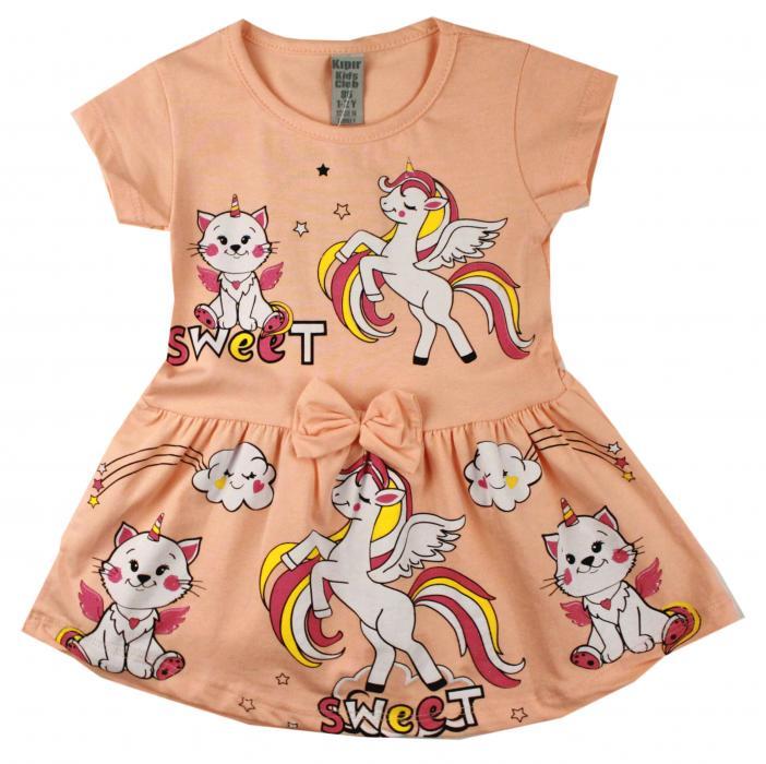 1700295  Платье для девочки рост (86-92-98-104-110) Турция
