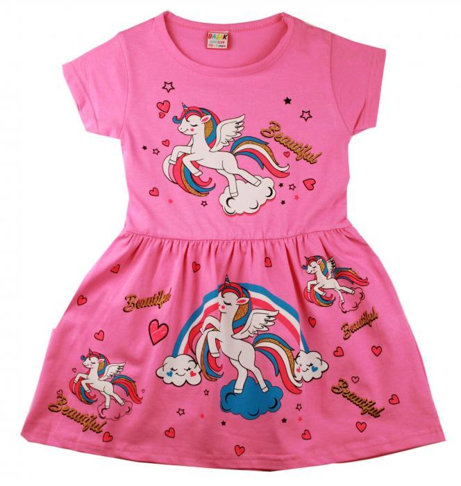 1700406 Платье для девочки рост (104-110-116-122) Турция