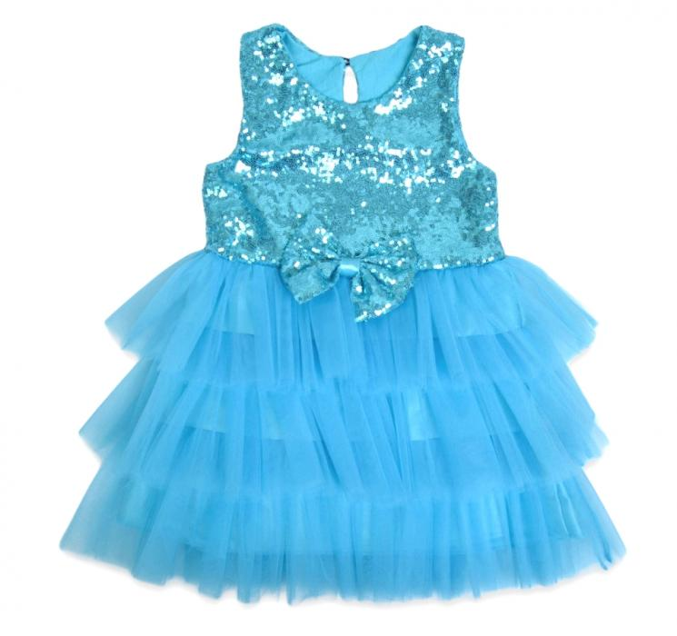 1800223 Платье для девочки рост (98-104-110) Турция