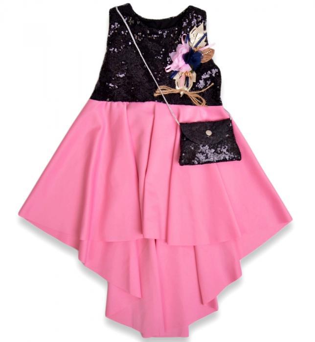 1800229 Платье с сумочкой для девочки рост (104-110-116) Турция