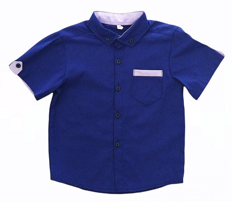 2200171 Рубашка для мальчика рост (98-104-110-122-128)