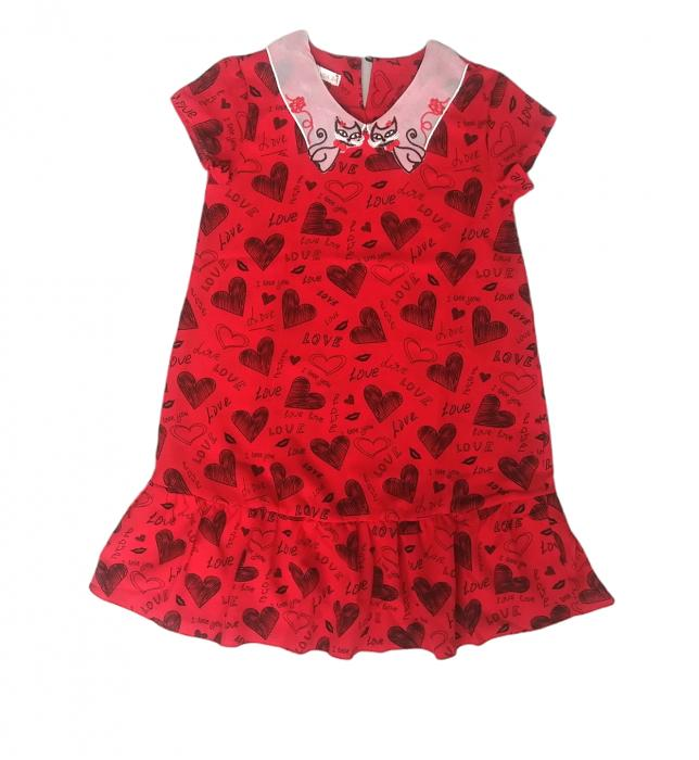 2200324 Платье для девочки рост (122-128-134-140-146)
