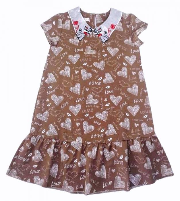 2200325 Платье для девочки рост (122-128-134-140-146)