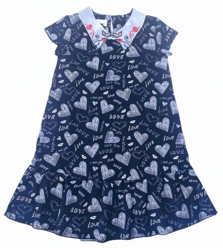 2200327 Платье для девочки рост (128-134-140-146-152)