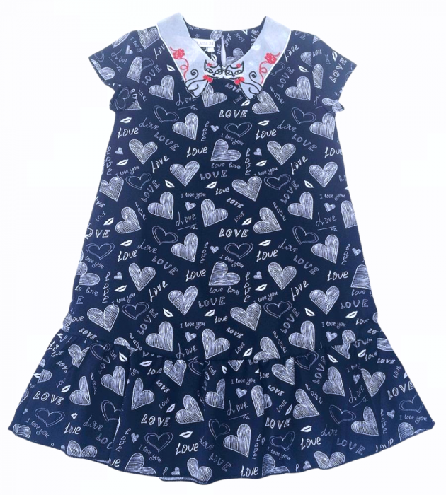 2200327 Платье для девочки рост (122-128-134-140-146)