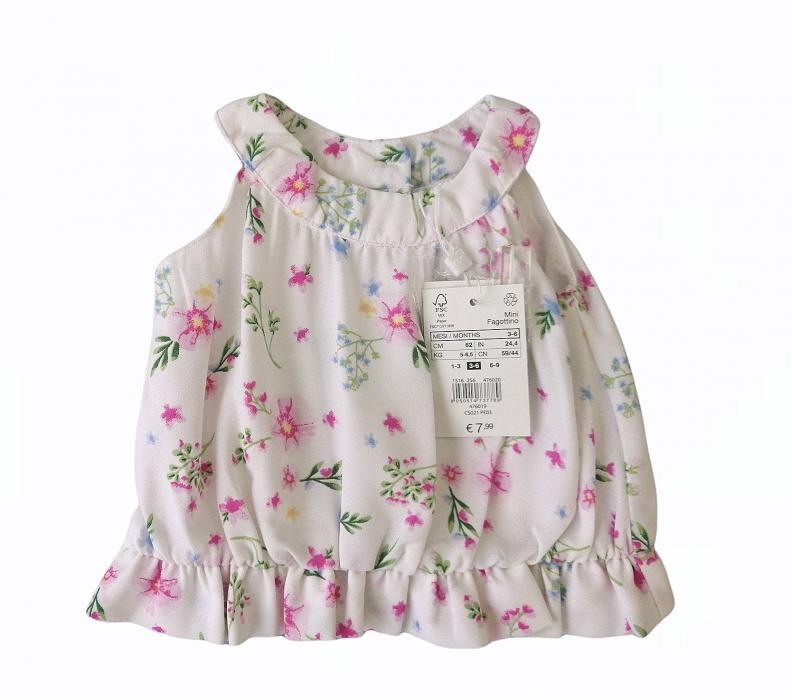 230227 Блузка  для малышки OVS Италия